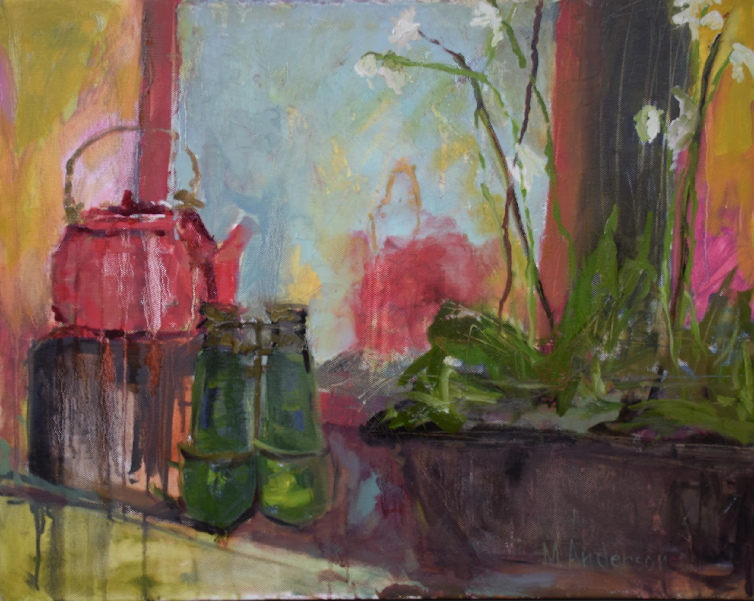 Treasure Table (20x24 Canvas) - Sold