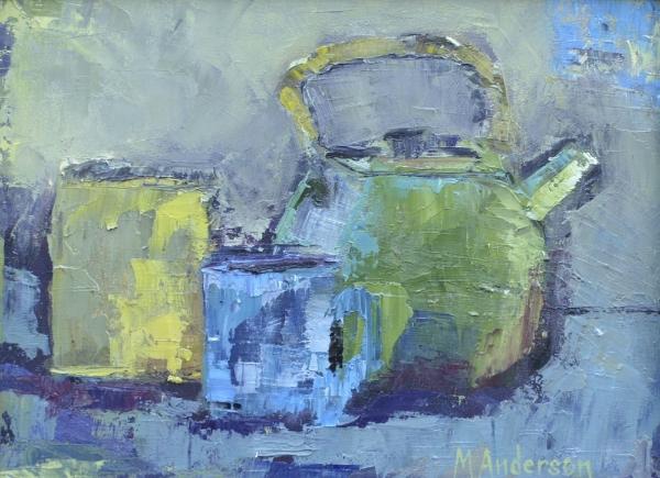 Tea Pot - Sold