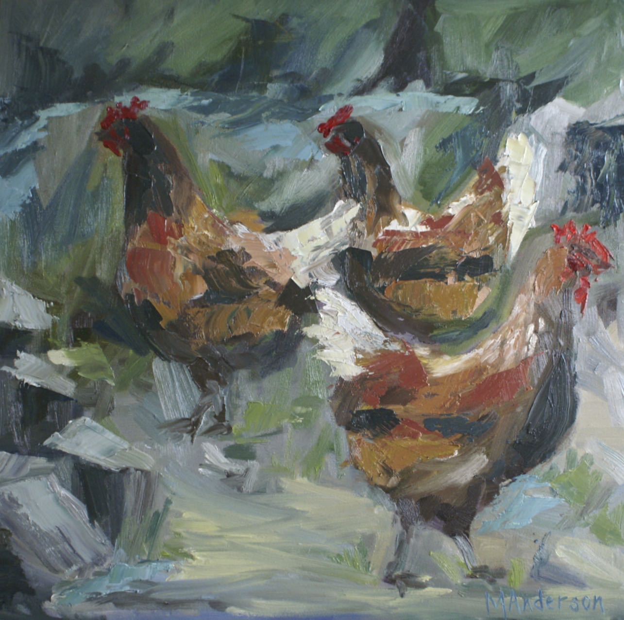Chickens - Sold