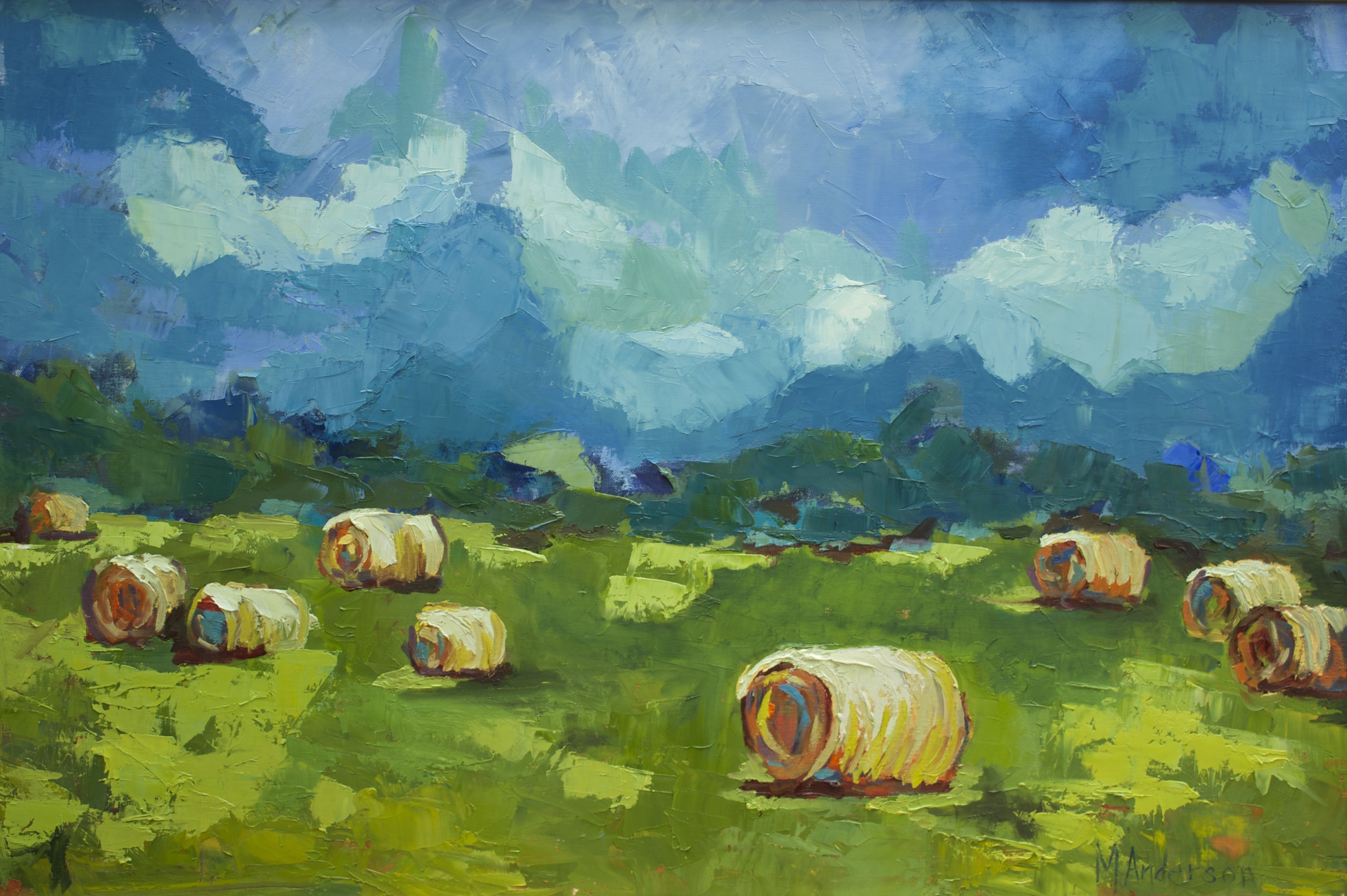 Hay Bales (24x36 Canvas) - Available
