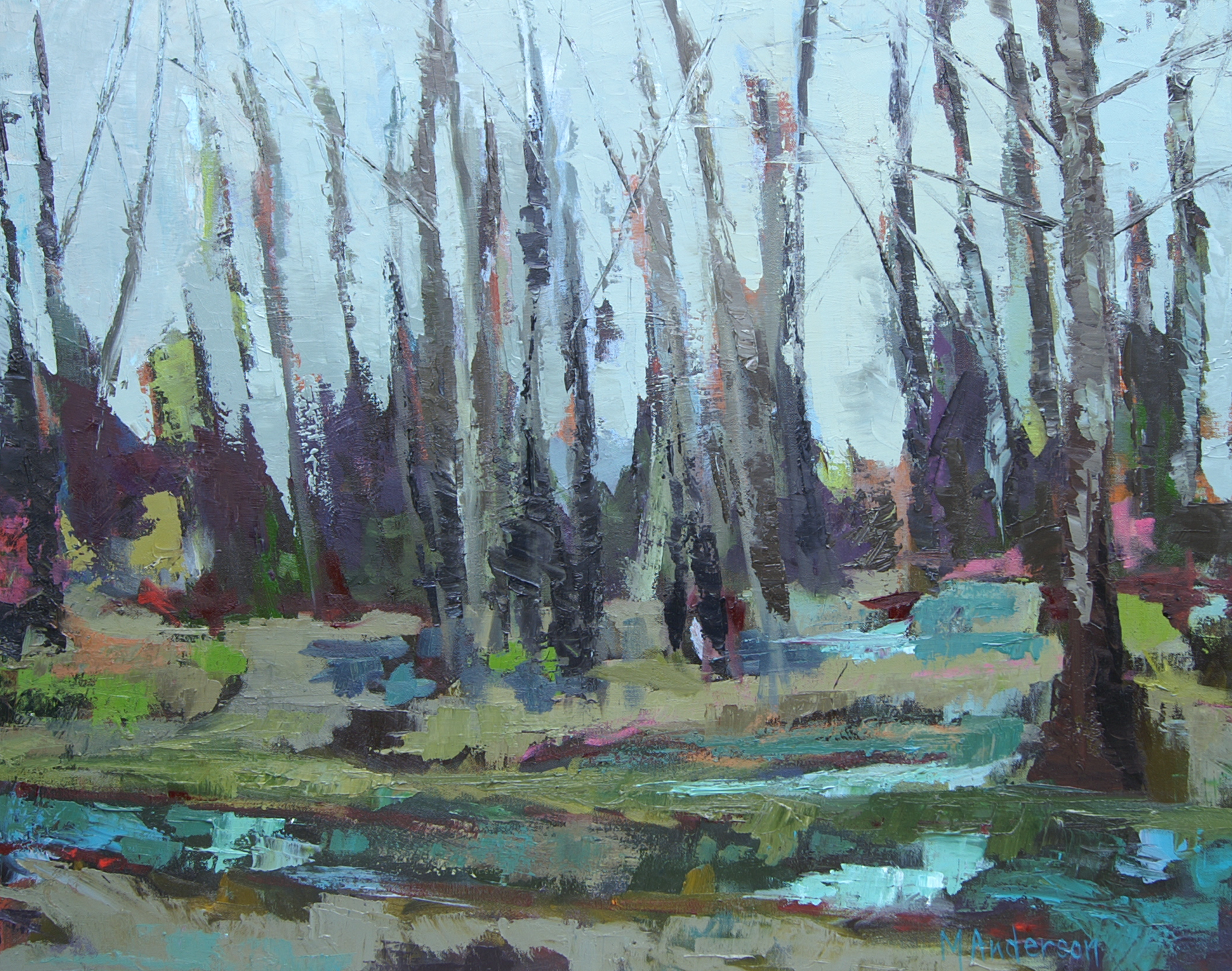 Congaree in Blue - Sold