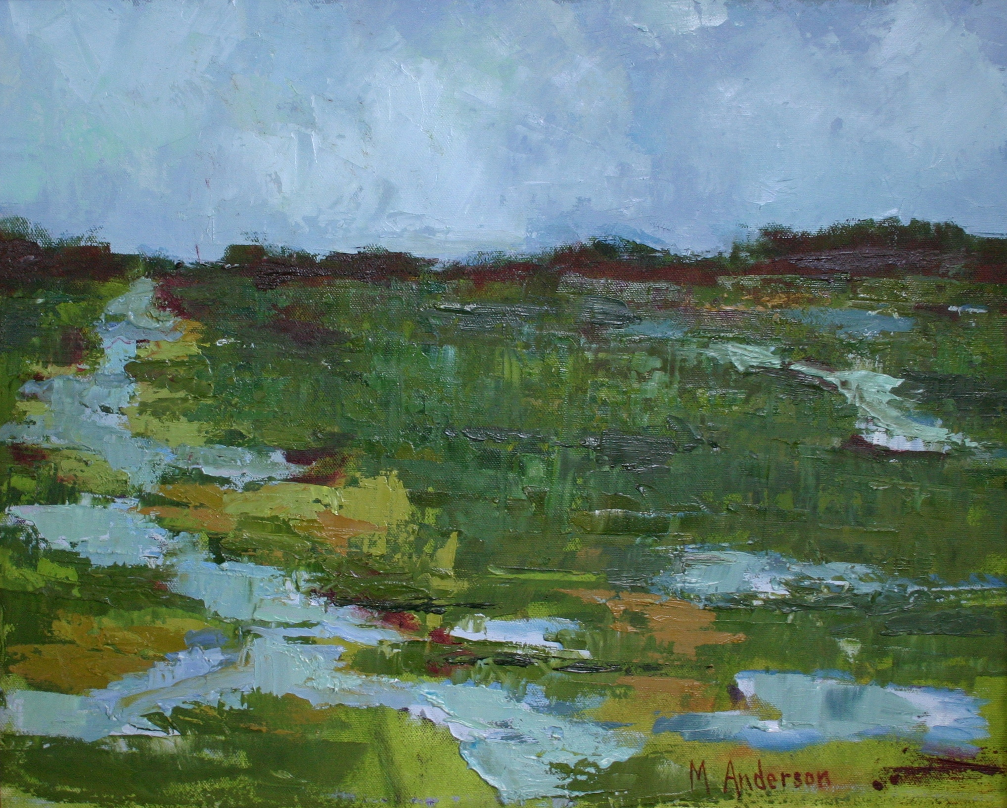 SC Marsh - Pawley's (16x20 Canvas) - Sold