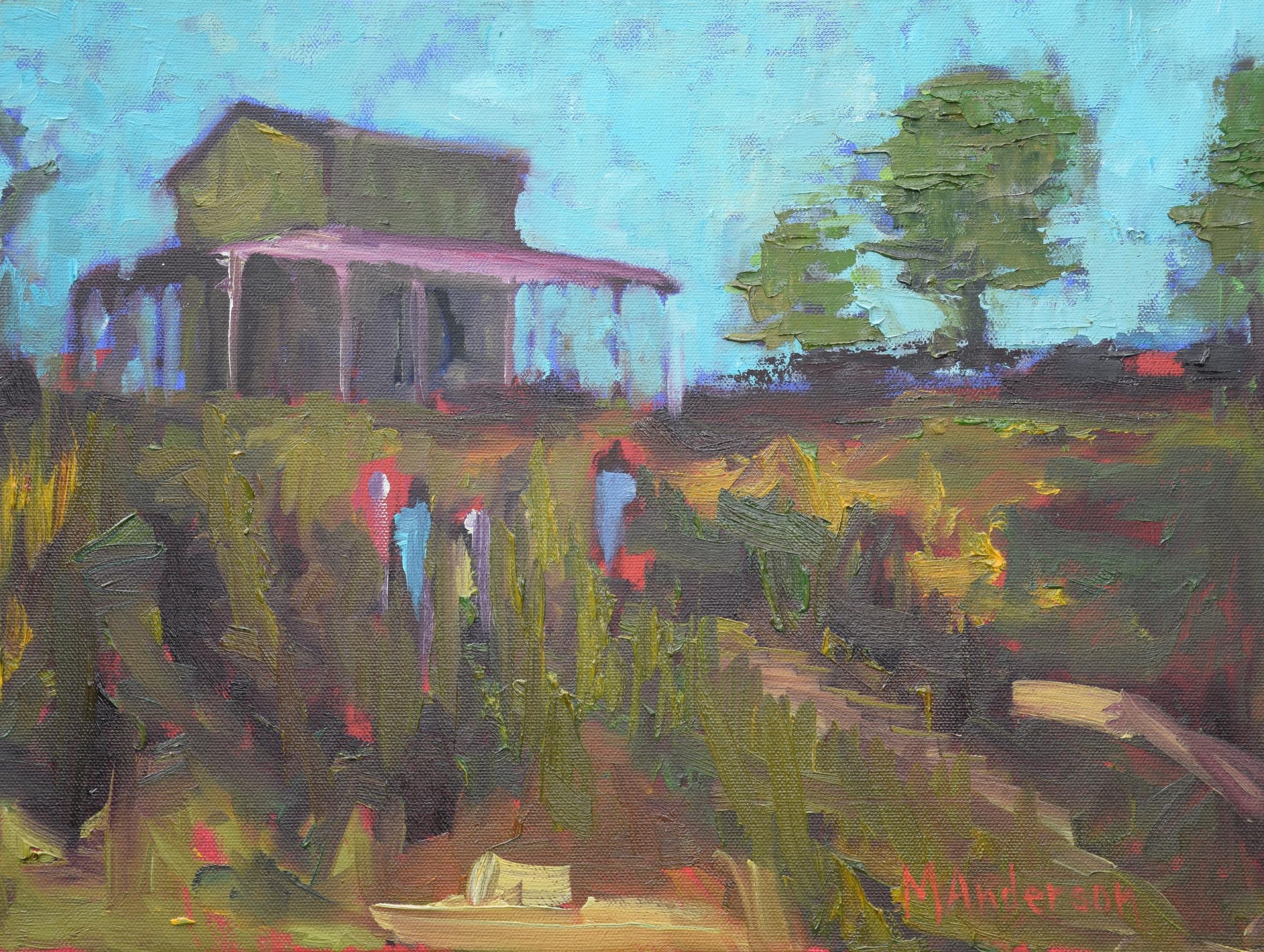 Pee Dee Barn (16x12 Canvas) - Sold