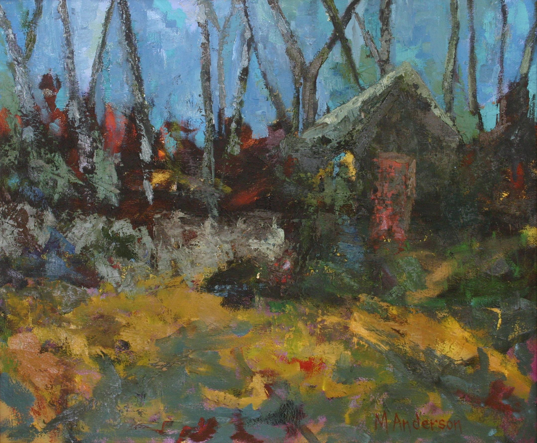 Barn in Caesar's Head (20x24 Canvas) - Sold