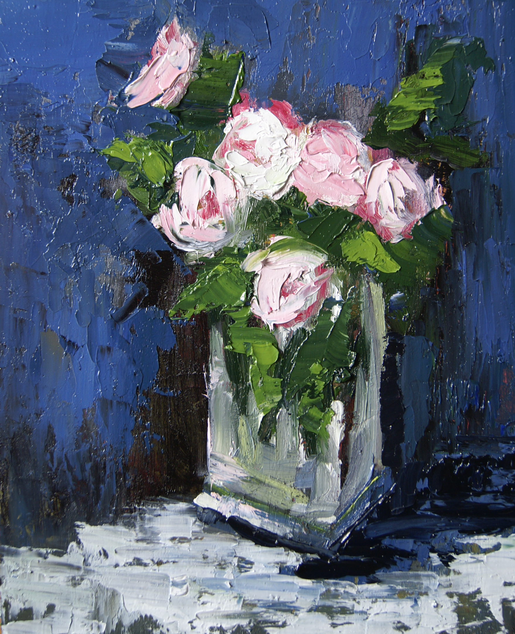 Peonies (10x8 Canvas) - Sold
