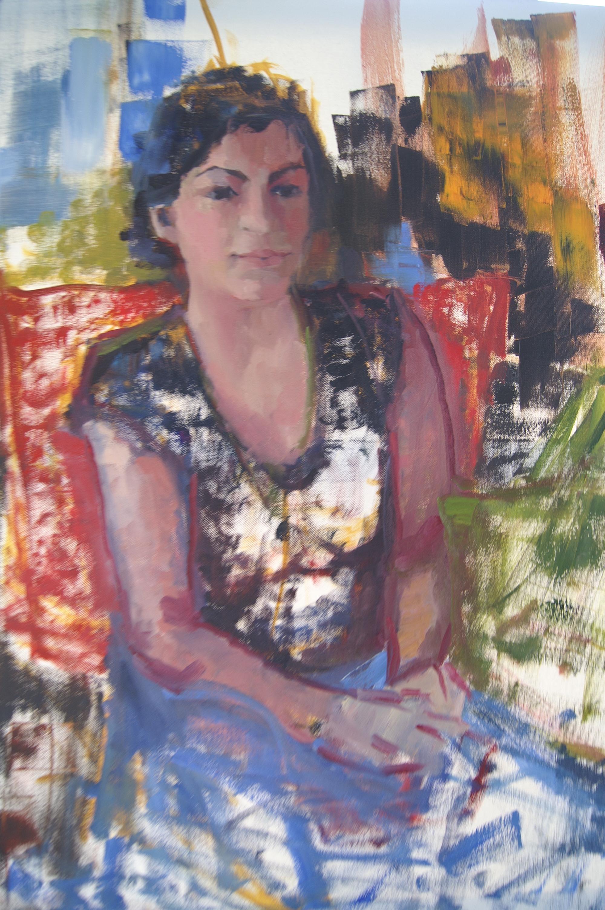 Gabby (20x24 Canvas) - Available