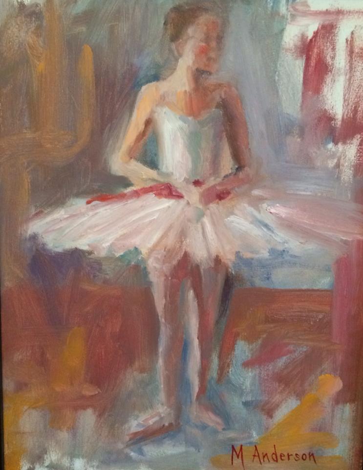 Ballerina (14x11 Canvas) - Sold