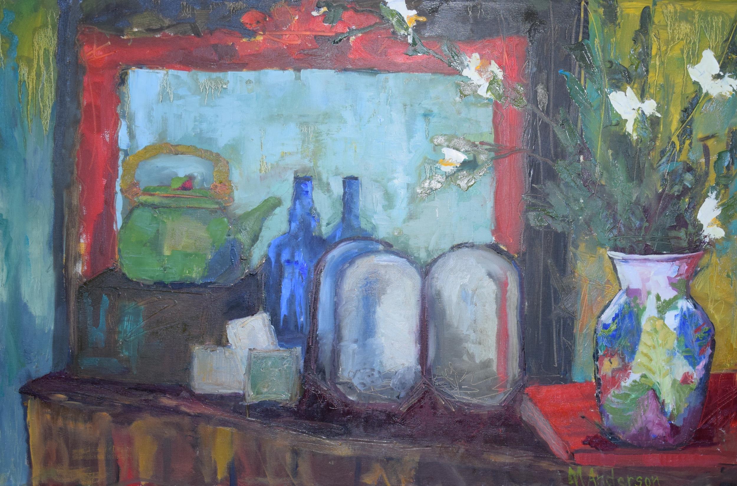 Treasure Table (24x36 Canvas) - Sold