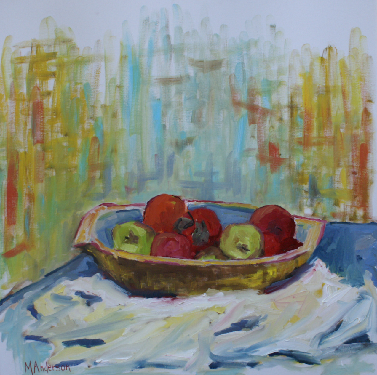 Assorted Fruit (30x30 Canvas) - Sold