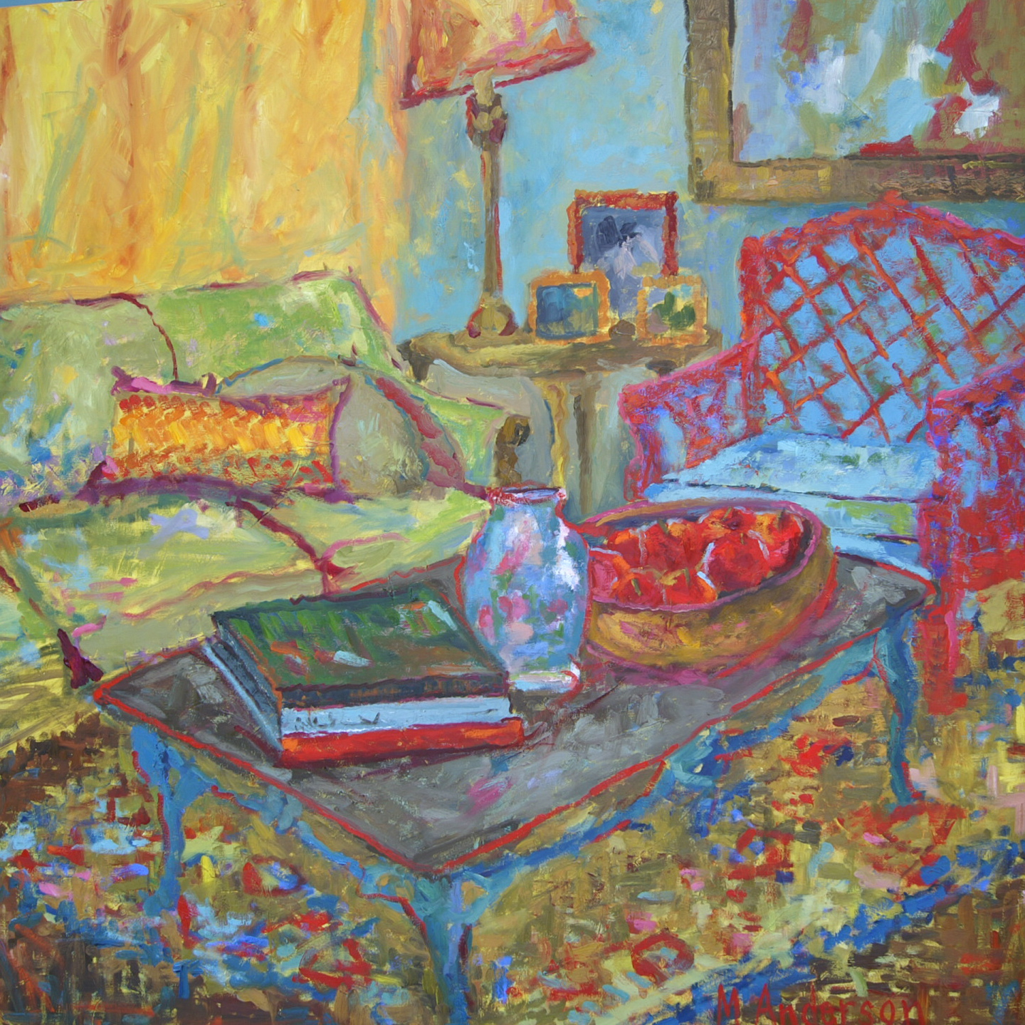 Green Couch - Sold