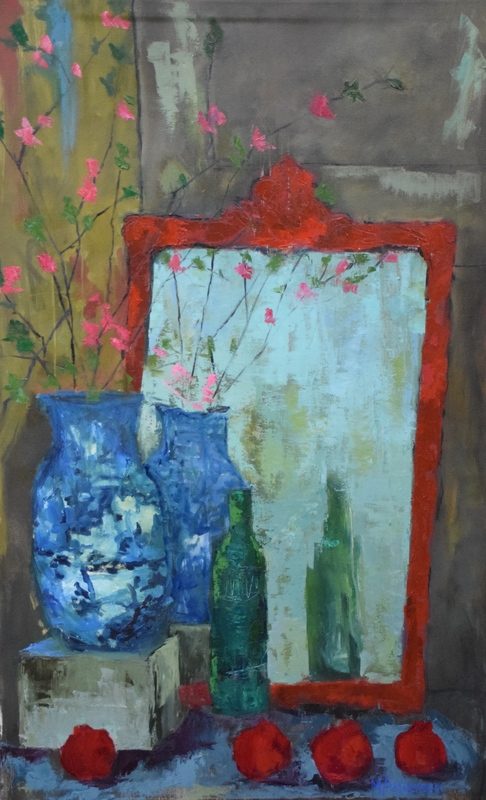 Treasure Table (30x48 Canvas) - Sold