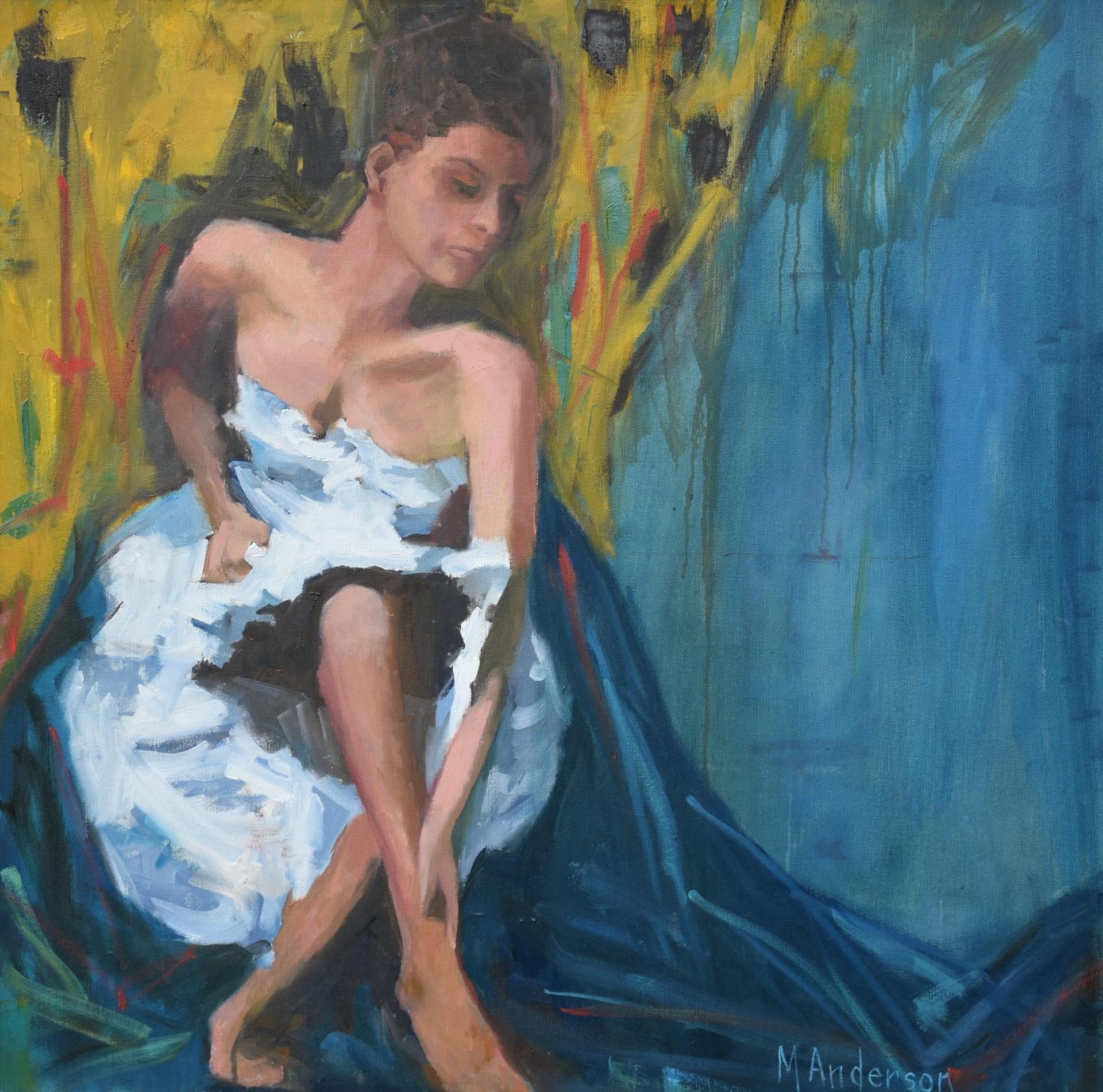 Daydream (30x30 Canvas) - Sold