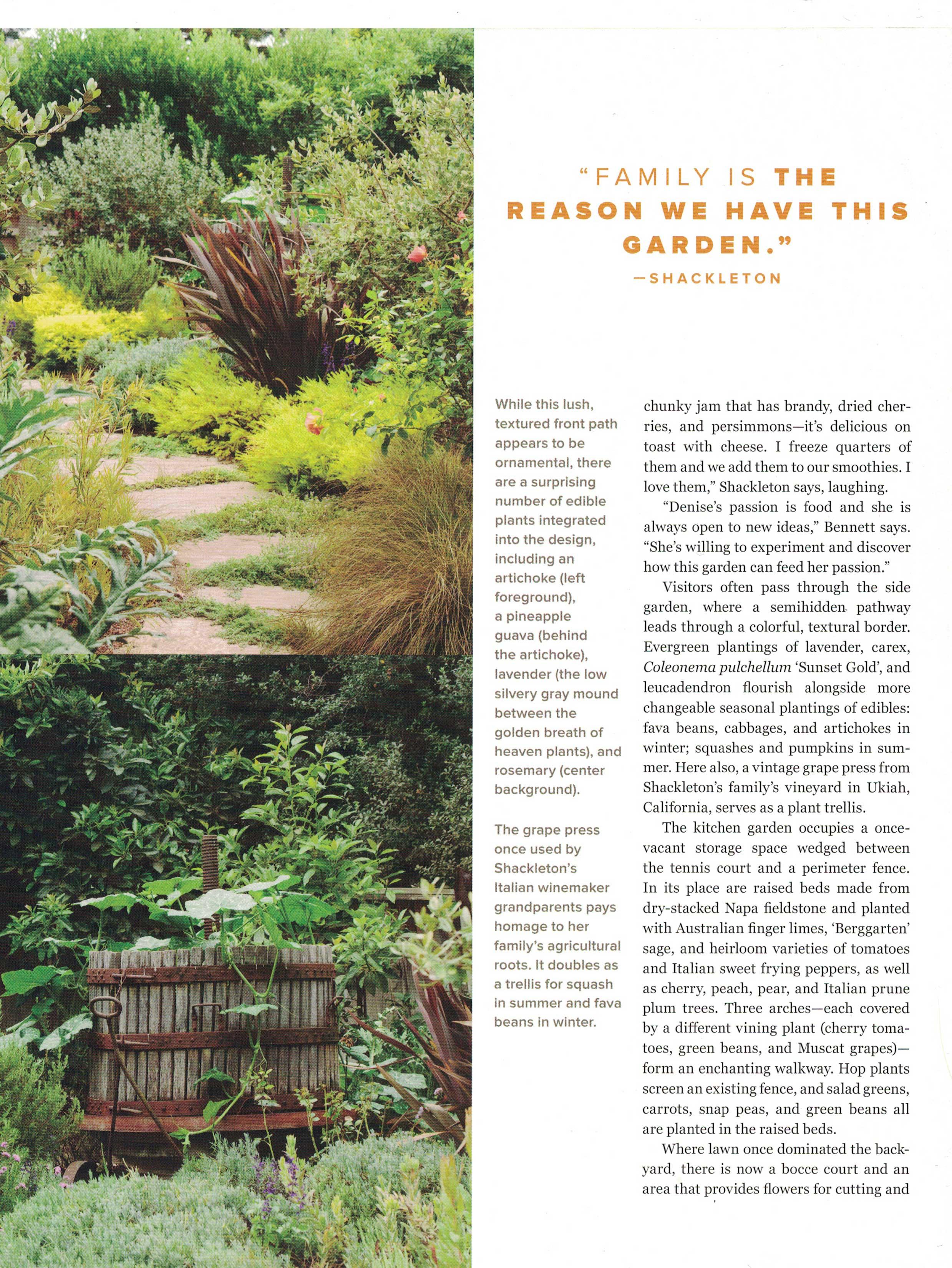 Sample Gardens — Media & Events — Pine House Edible Gardens on