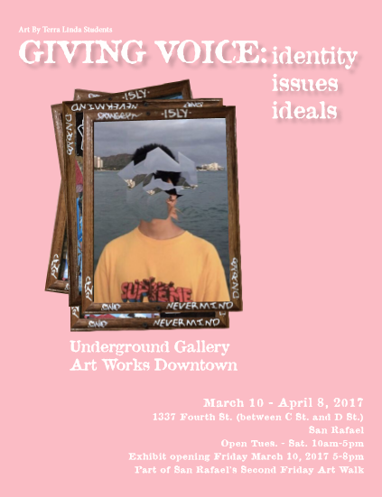 TL Visual Art Students give voice through drawing, painting, photography, and ceramics to themes of identity, issues, and ideals in this time of change and uncertainty.