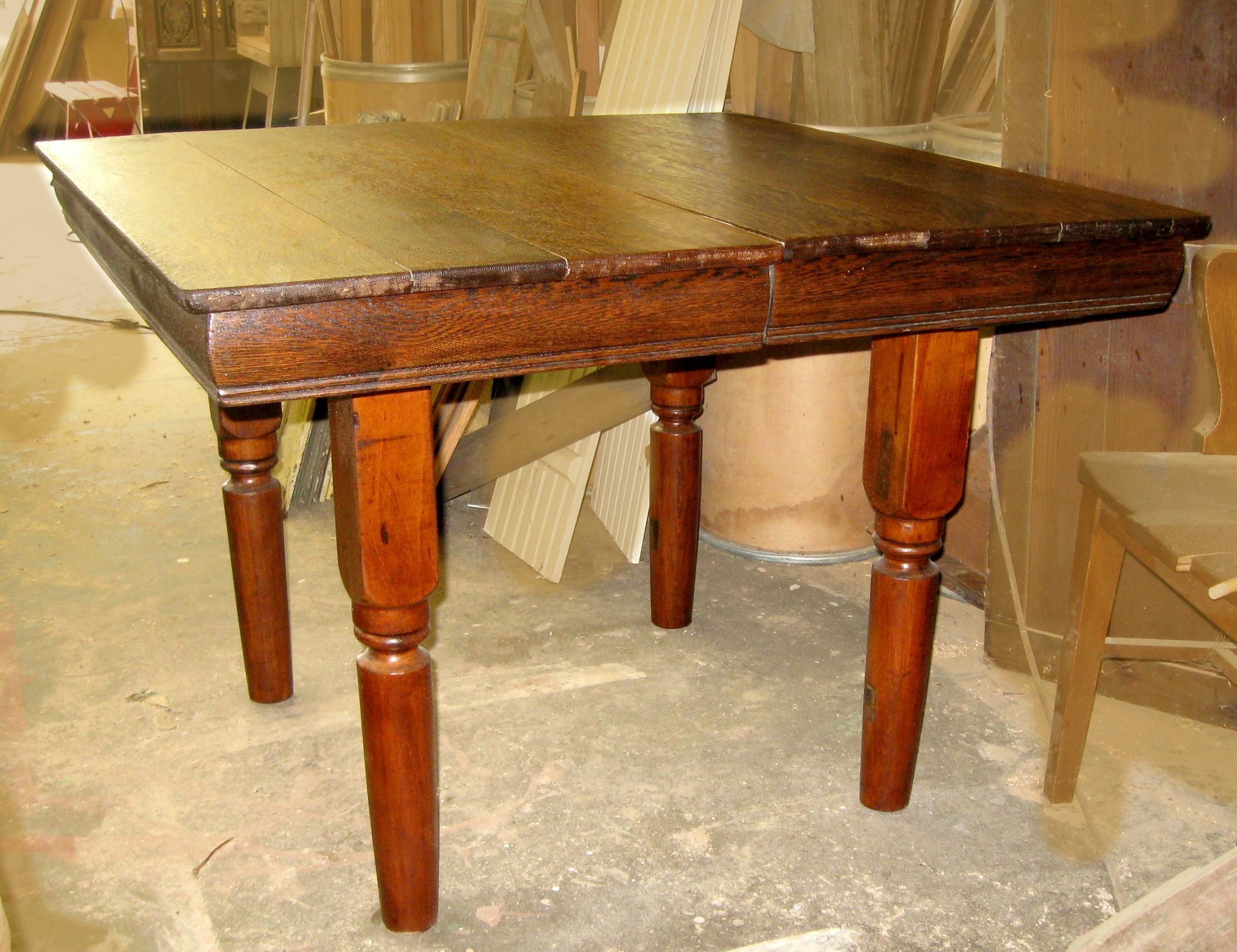 Mick Vevera 2015 Oak Kitchen Table $100/sold