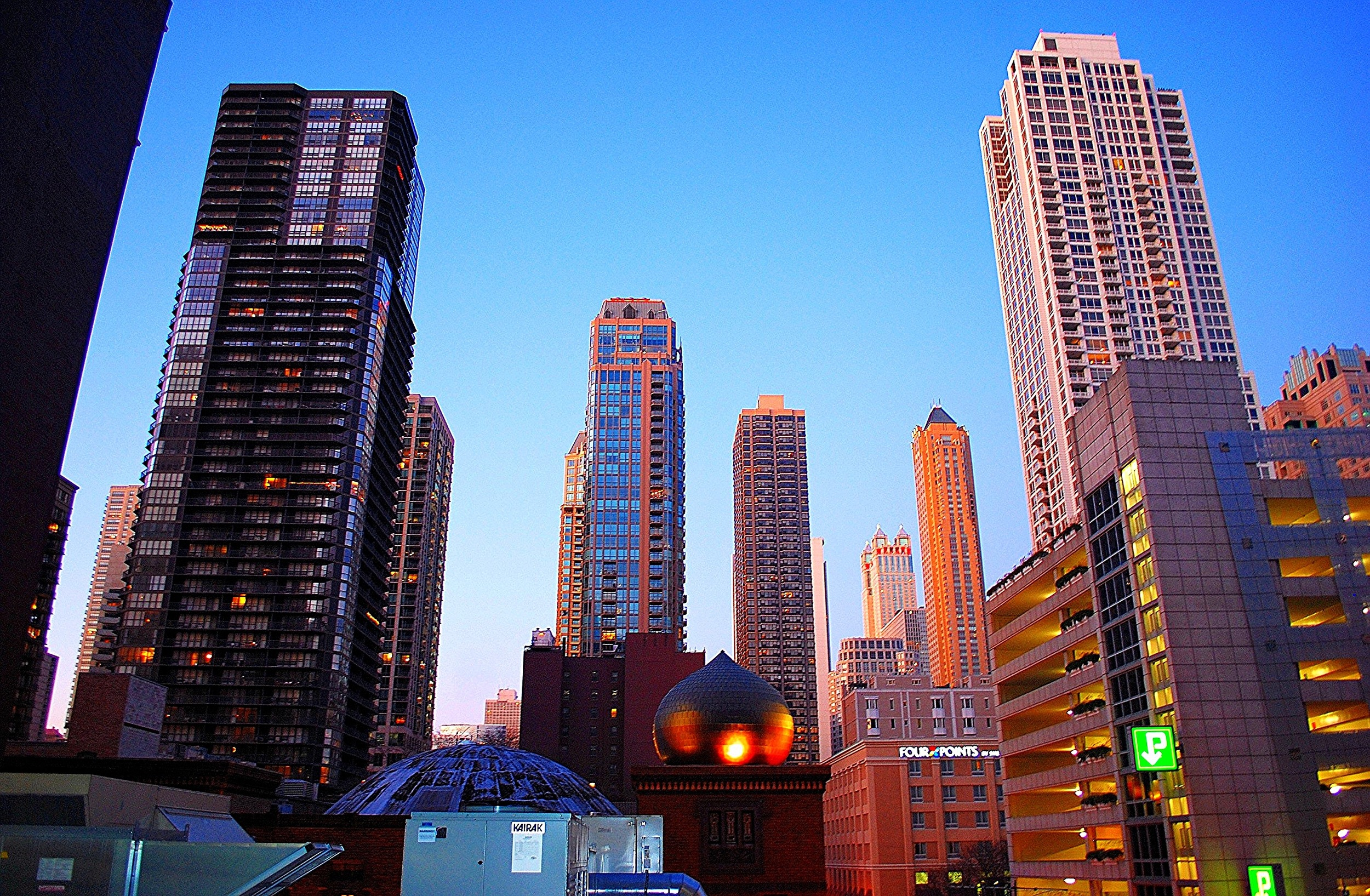 Downtown Chicago at Dusk Nathan Fischer 2011 Photograph 11x14 or custom $75
