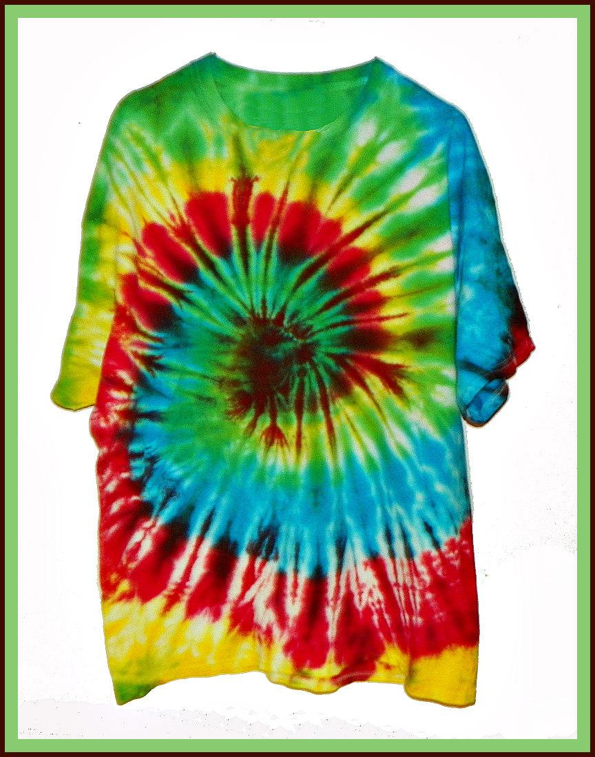 Tie Dye T-Shirt John Colwell 2016 $30