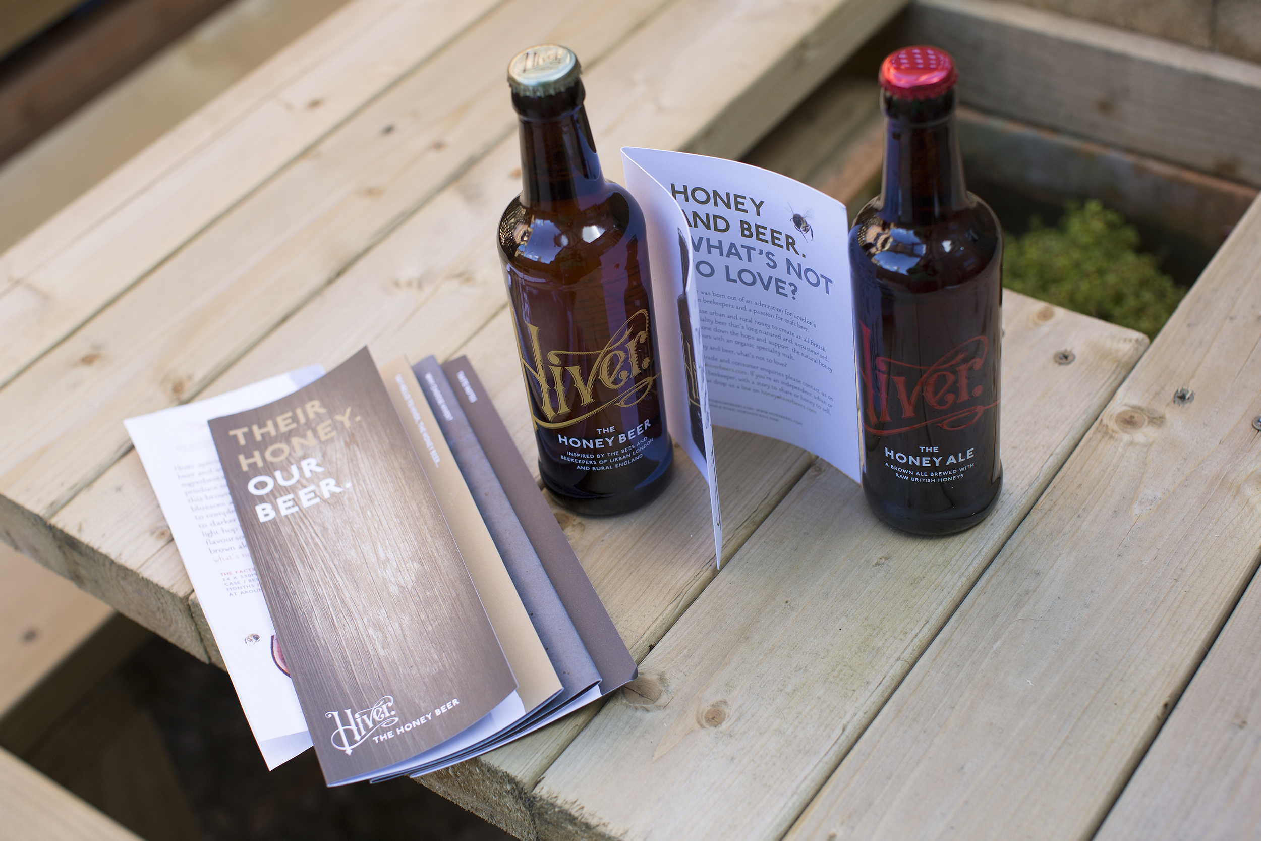 This gorgeous literature is provided to stockists of Hiver Beers, although doesn't come as standard with every order.