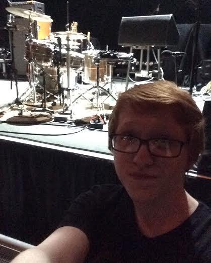Luke, front row waiting. Photo Cred: Luke