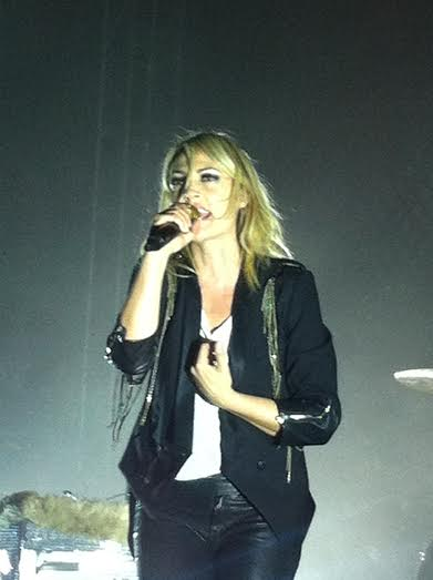 Luke's view of Emily from front row. Photo Cred: Luke