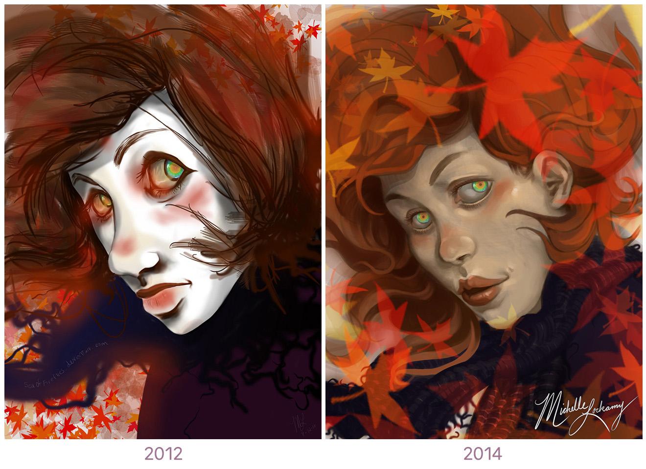 Lockamy_Old Autumns_2012 and 2014.jpg