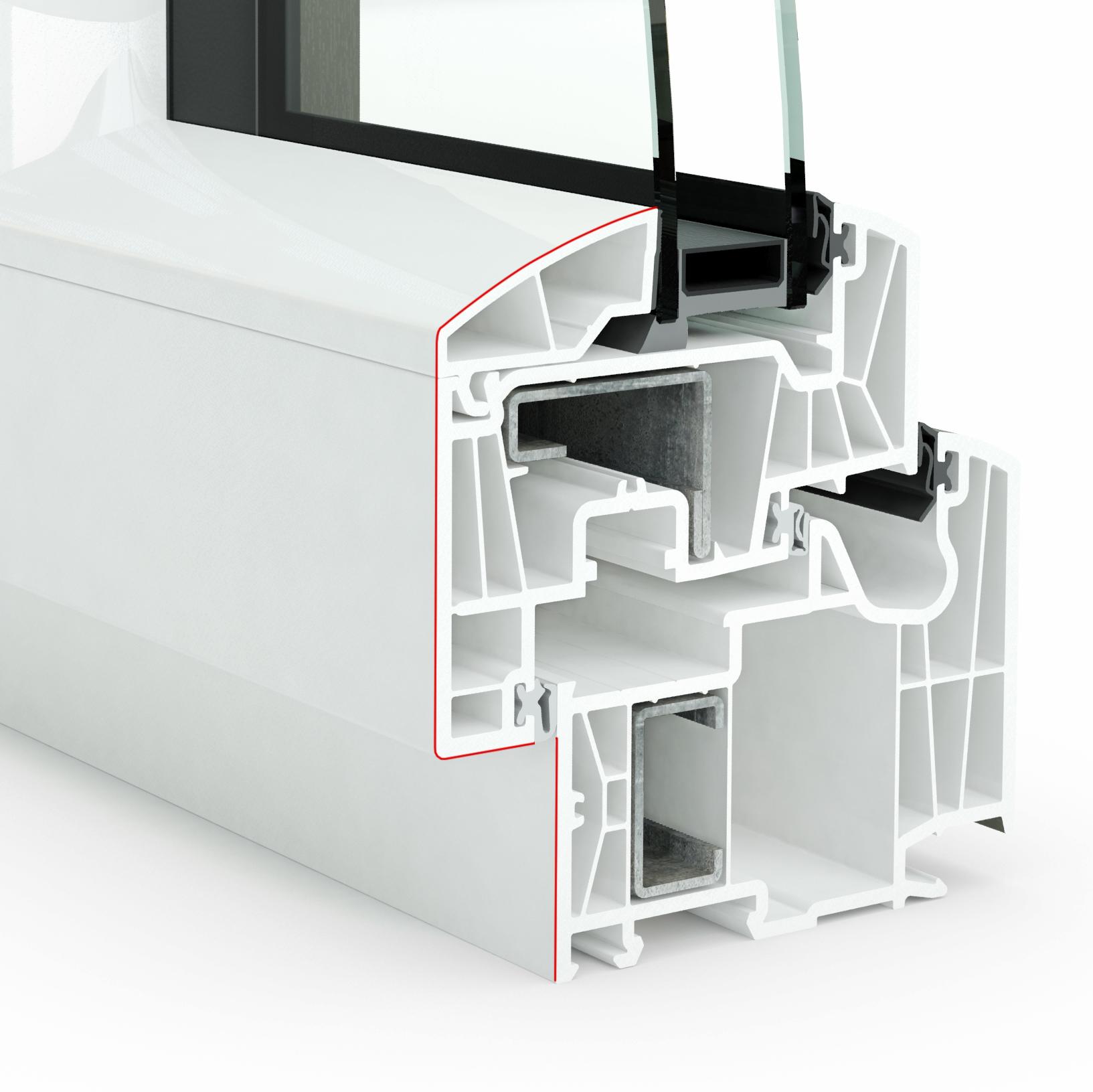 Design Pvc int double vitrage