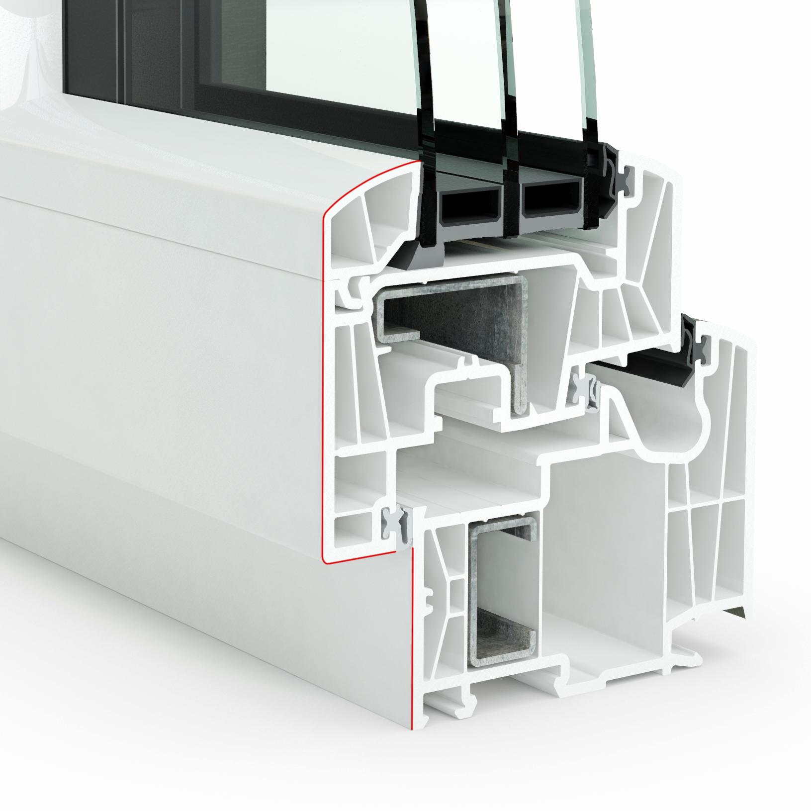Design Pvc int triple vitrage