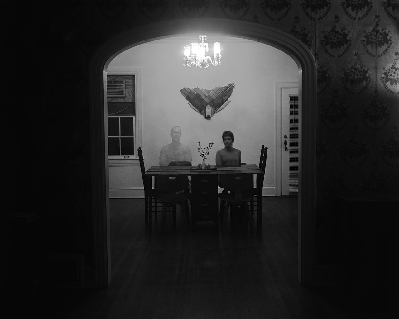 Elizabeth with Bill as a Ghost (in The Mansion)