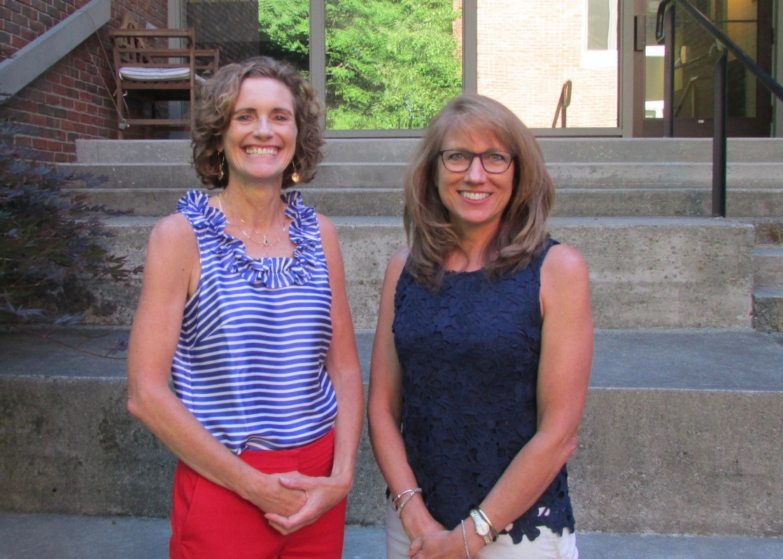 Karen Morton (L), Executive Director; Denise Gariepy (R), Program Director