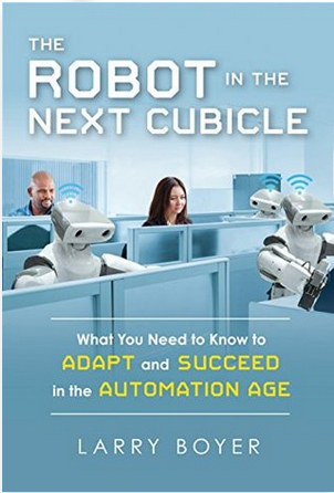 The Robot in the Next Cubicle - For you, the listeners of WHY IT WORKS, Audible is offering a FREE audiobook with a free 30-day trial to give you the opportunity to check out their service.A great book to go with this episode is The Robot in the Next Cubicle: What You Need to Know to Adapt and Succeed in the Automation Age, by Larry Boyer. More than explanation, Larry provides a roadmap for how to thrive in the future of work.To download your free audiobook today click, http://www.audibletrial.com/WhyItWorksIf you prefer paper, Kindle or are already an Audible member, no problem - buy the book here.