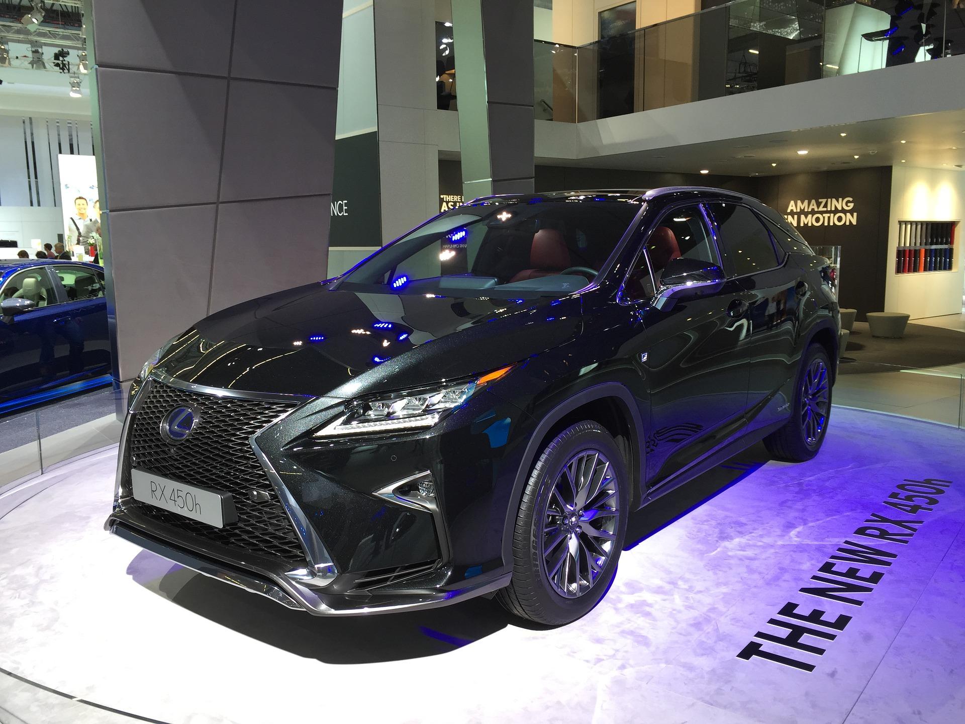 Lexus RX commercial - on Zach's website
