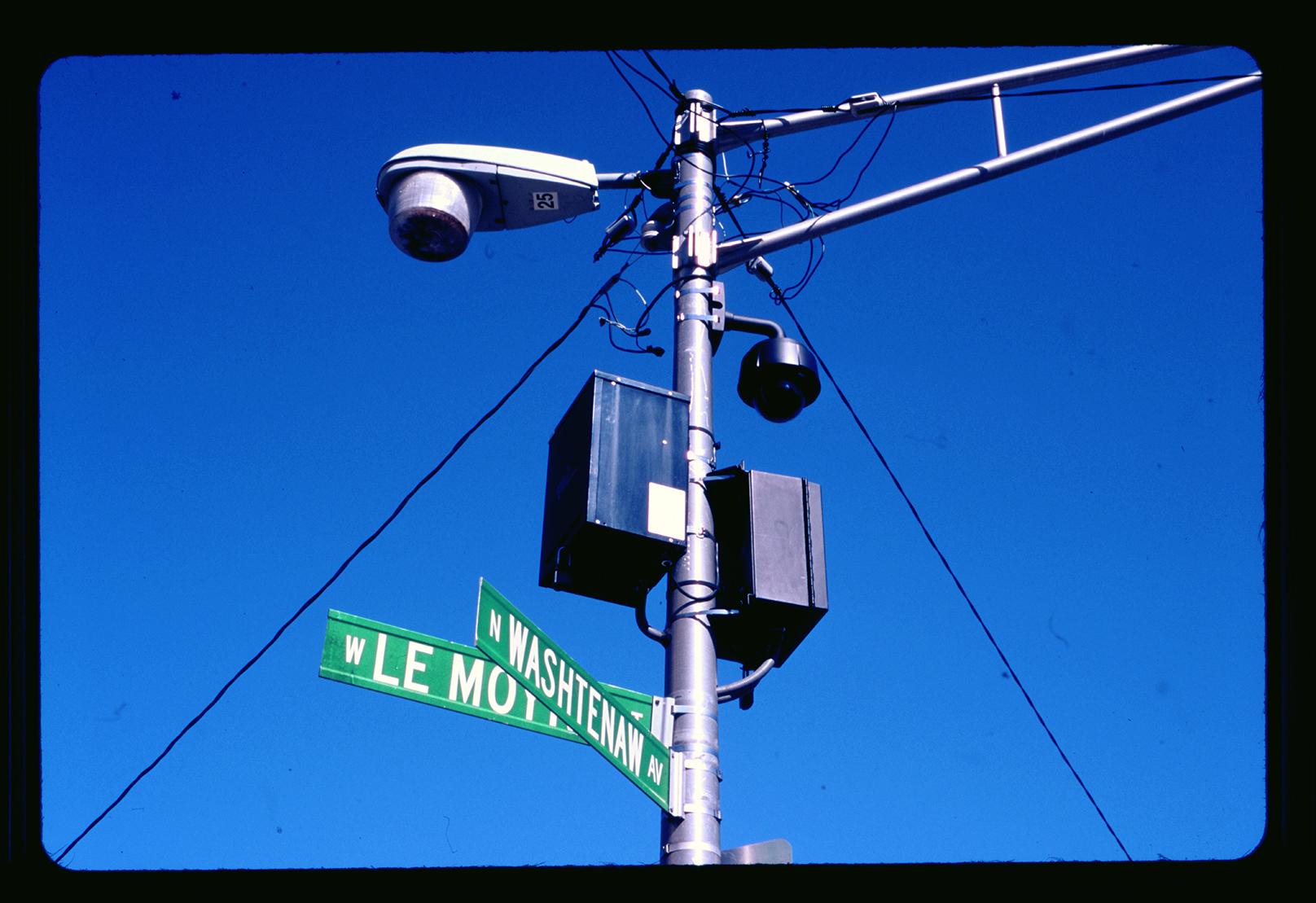 Police Observation Device, Washtenaw and LeMoyne