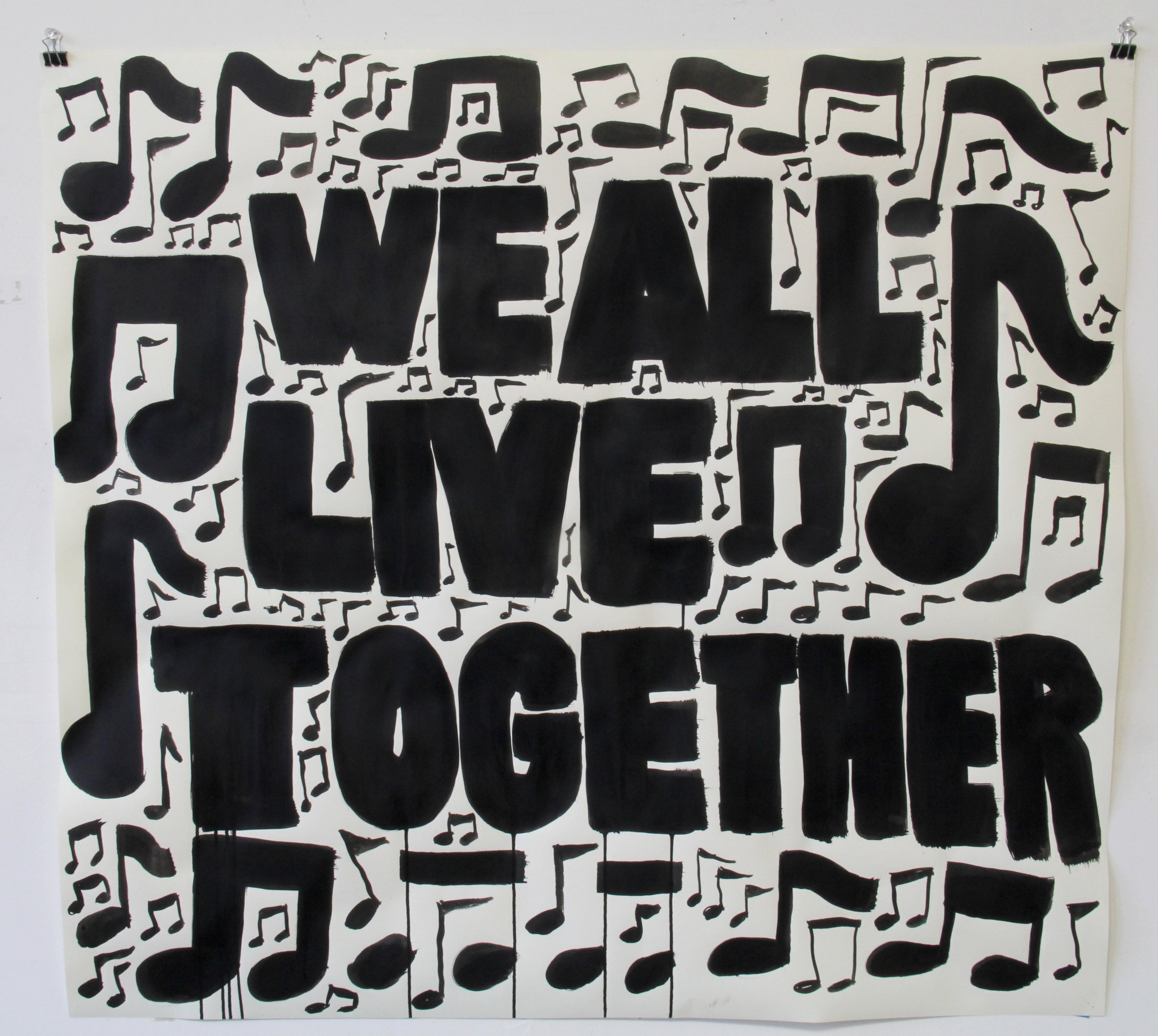 We All Live Together/We All Know the Words
