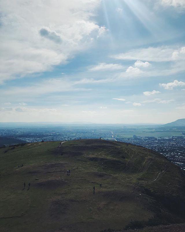 Arthur's Seat trekking ⛰ #LegDay