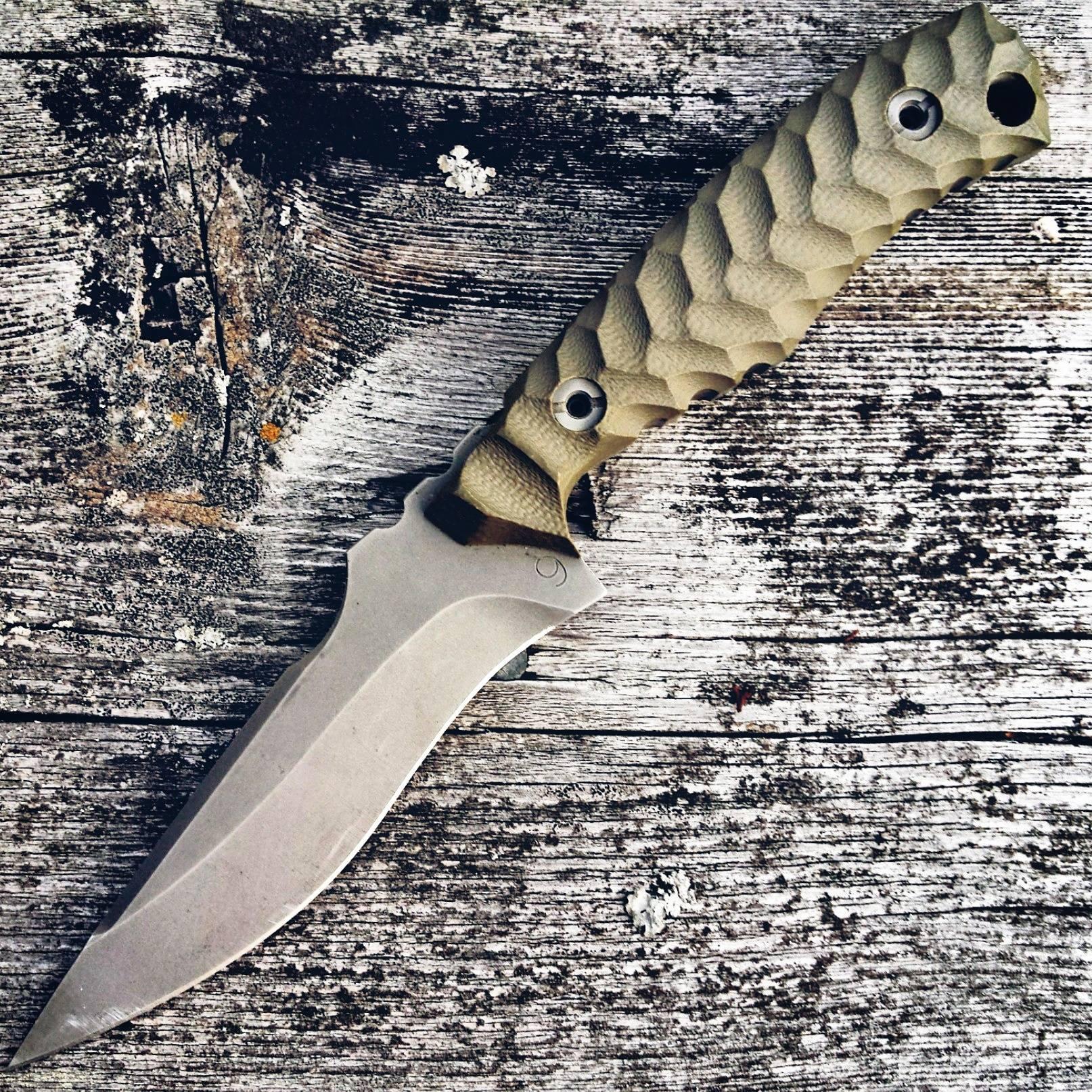 """""""Best forward grip; edge down blade ..."""""""
