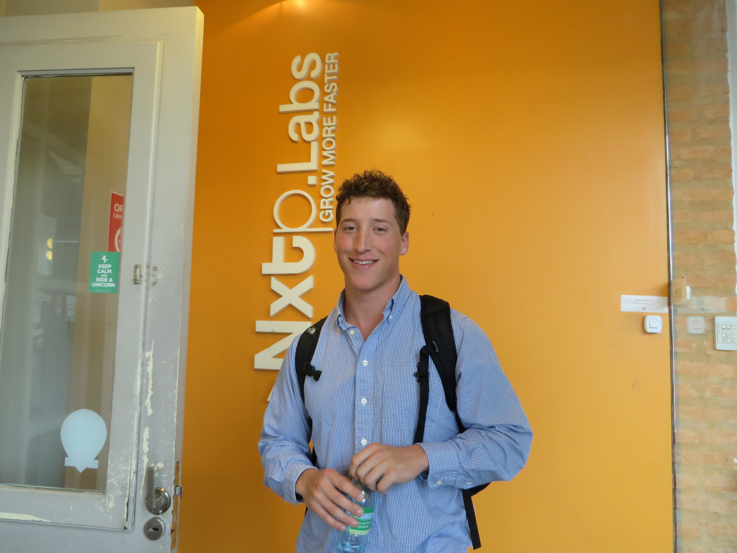 Andrew Bagwell at NXTP Labs Buenos Aires, Argentina.