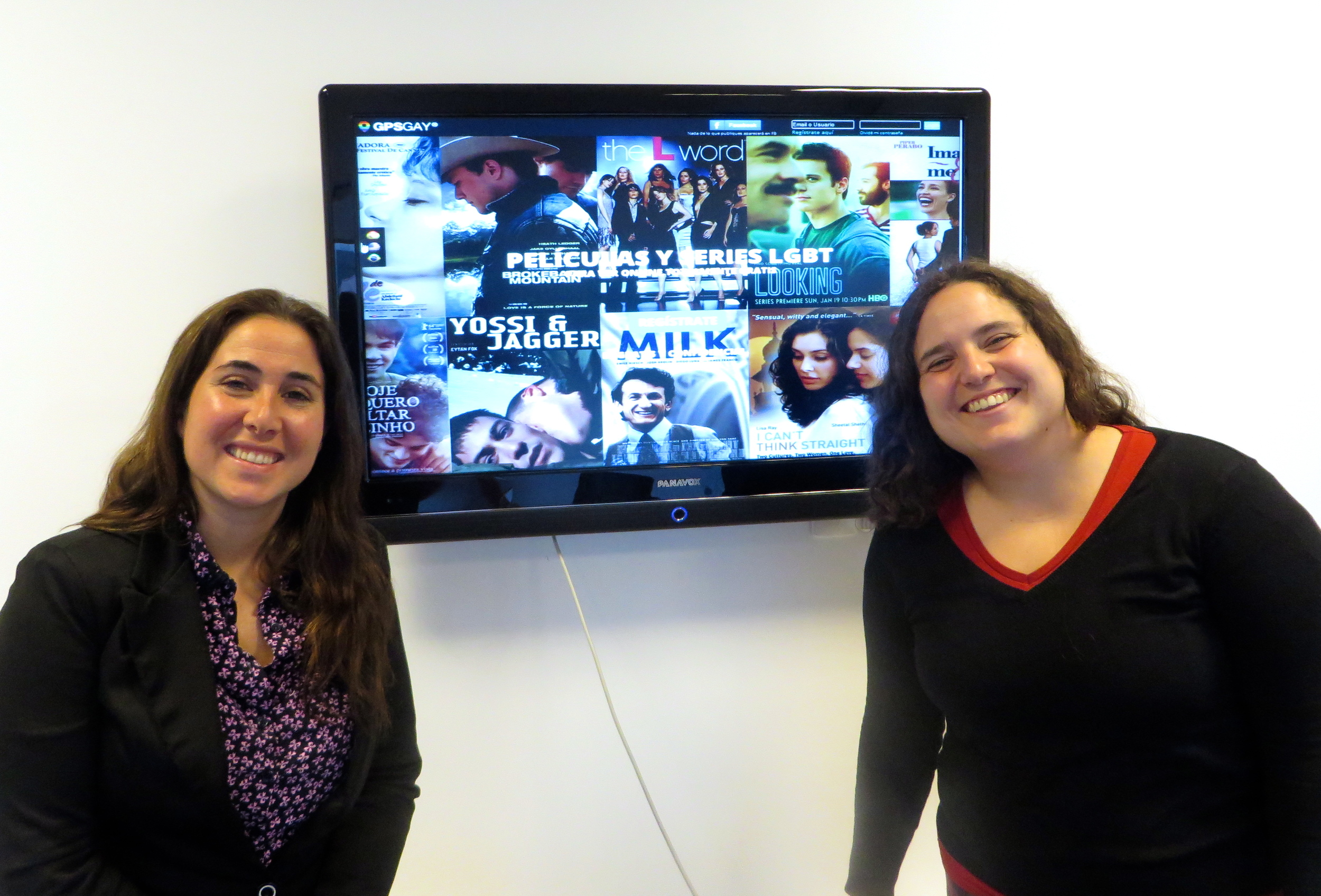 Magdalena Rodriguez (Left) and Rosario Monteverde (Right) of GPS Gay