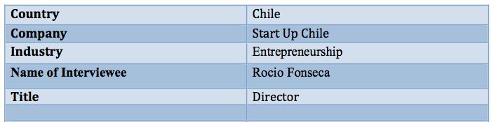 Start Up Chile