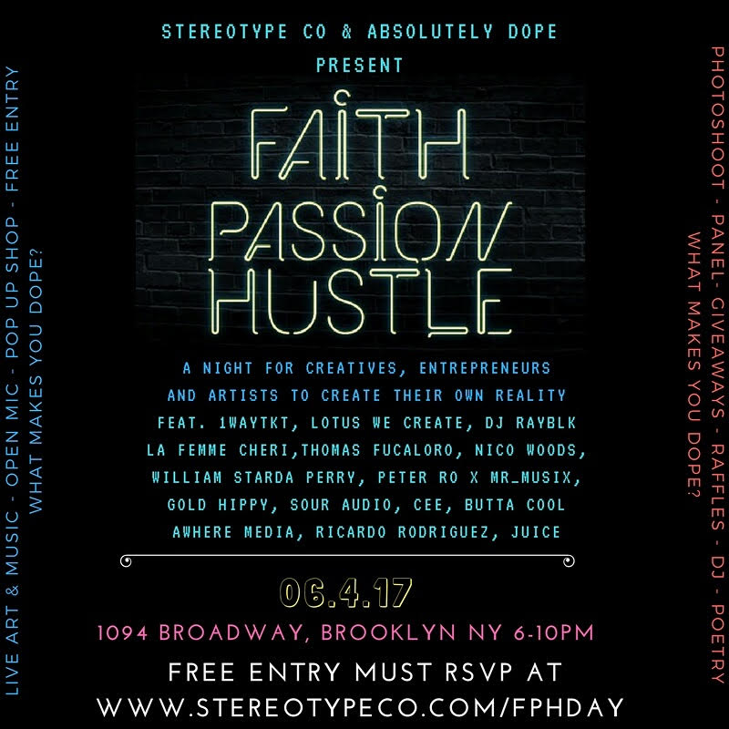 Faith Passion  Hustle