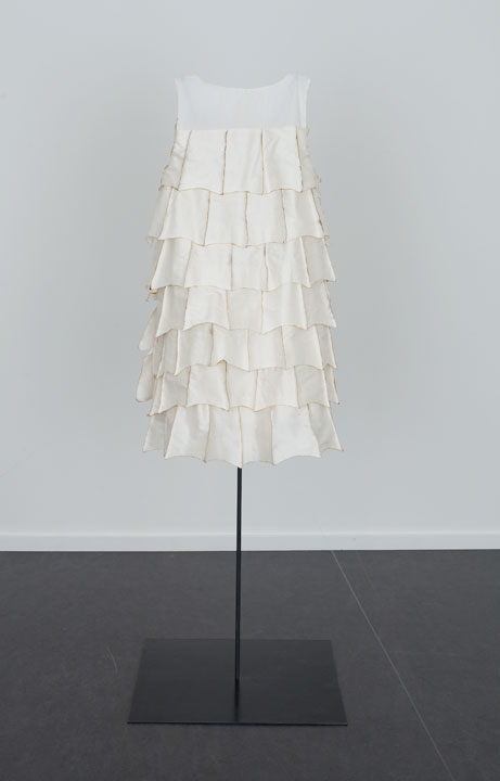 The Bat Dress with Singed Silk, The Dowsing 2013