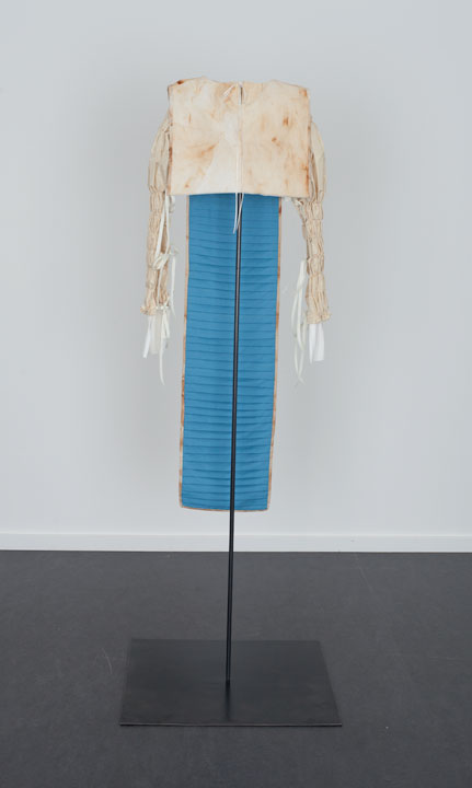Back of Rusted Tunic with Pleating, The Dowsing 2013