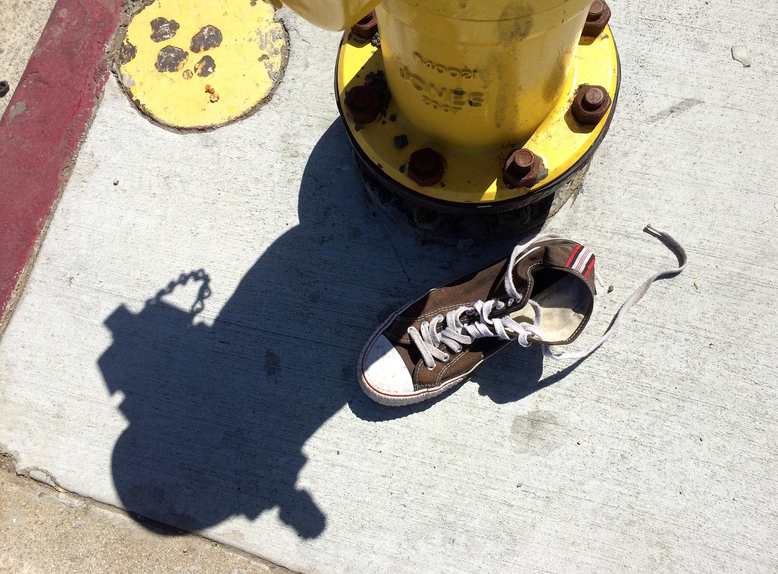 Sneaker and fireplug - 1.jpg