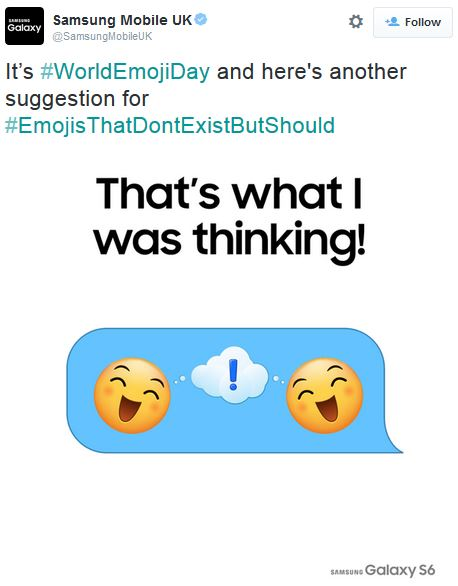 Upon finding 4 pointless 'our emoji' assets, I created a micro-campaign designed to engage users by askign them to submit their own ideas for new emojis and pushed the campaign on World Emoji Day (I did not know this was a thing).  Coincidentally, a Reddit community started a form that essentially did exactly the same thing, so we joined forces, driving people to submit their entries to that list; we gained some rep as a 'fun' brand, and we lost nothing from doing so as we weren't driving traffic anywhere else at the time.