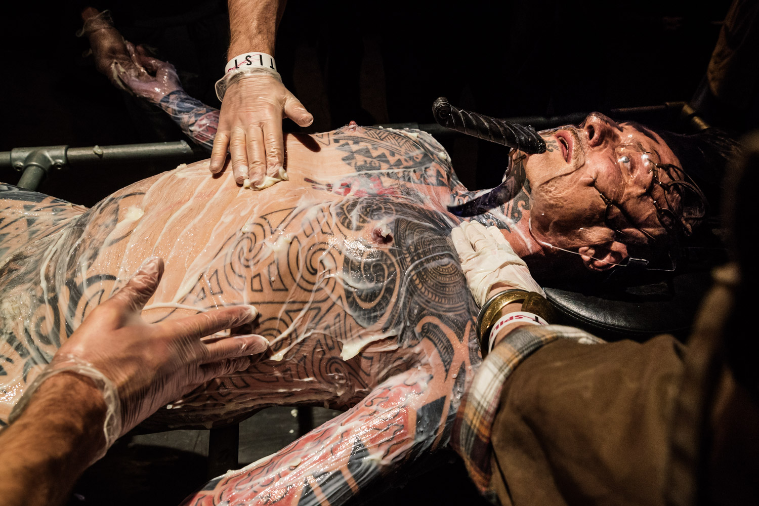Ron Athey | Incorruptible Flesh: Messianic Remains