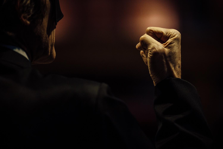 Romeo Castellucci | The Minister's black veil