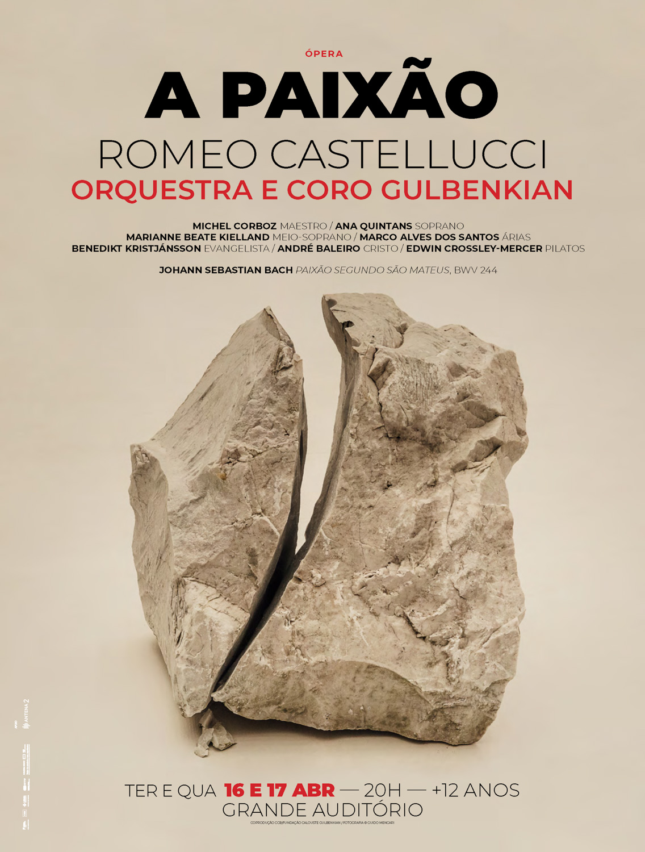 Romeo Castellucci / Michel Corboz | Johann Sebastian Bach - A Paixão