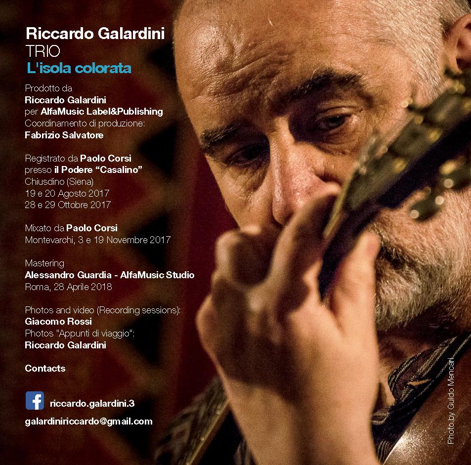 Riccardo Galardini Trio | L'isola colorata