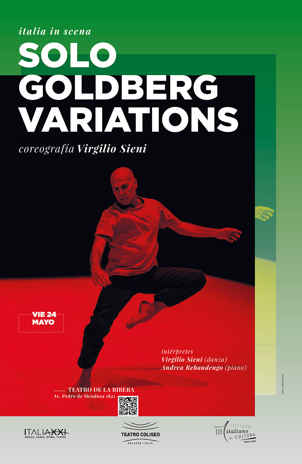 Virgilio Sieni and Andrea Rebaudengo | Solo Goldberg Variations