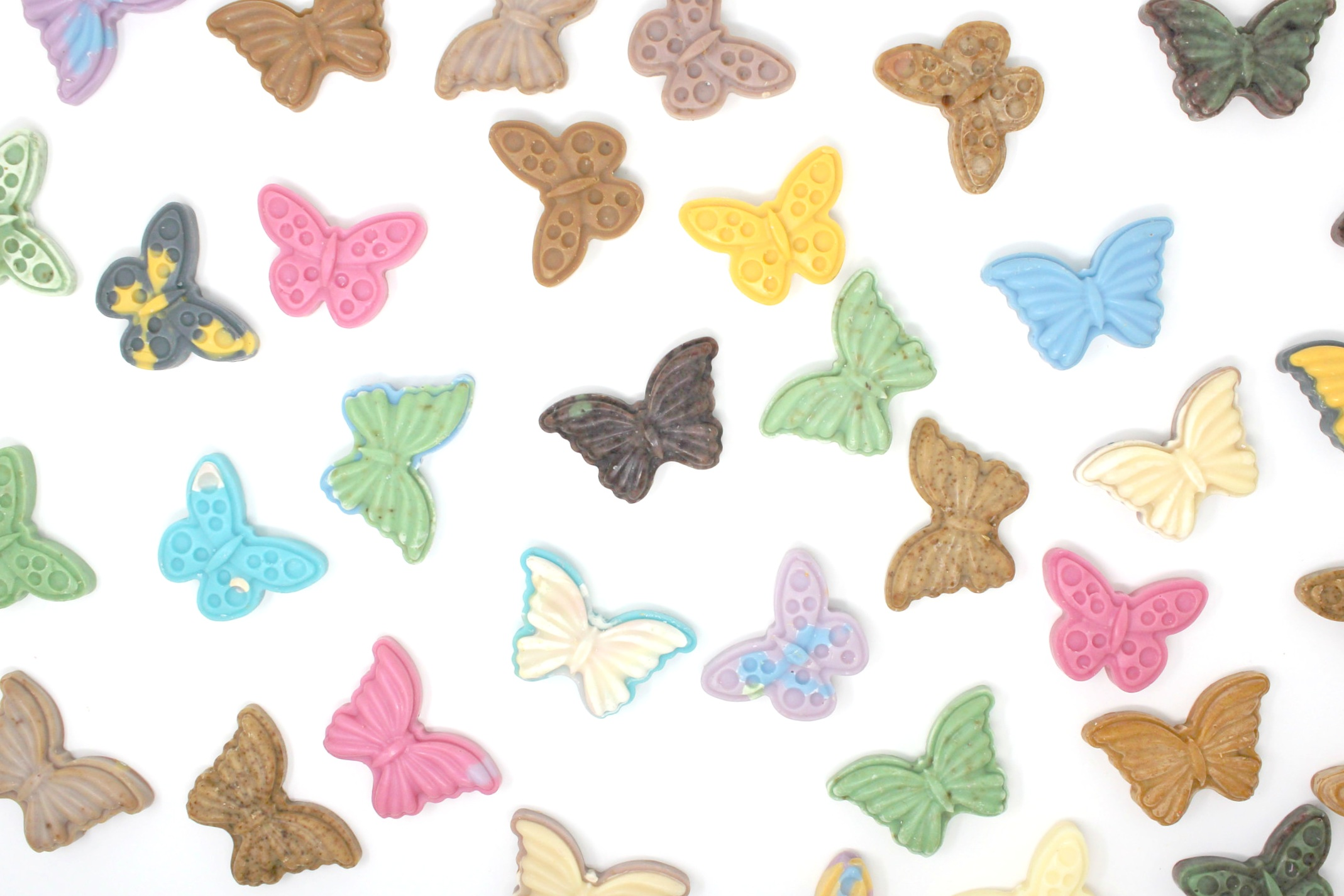 Guest Size Butterfly Soaps