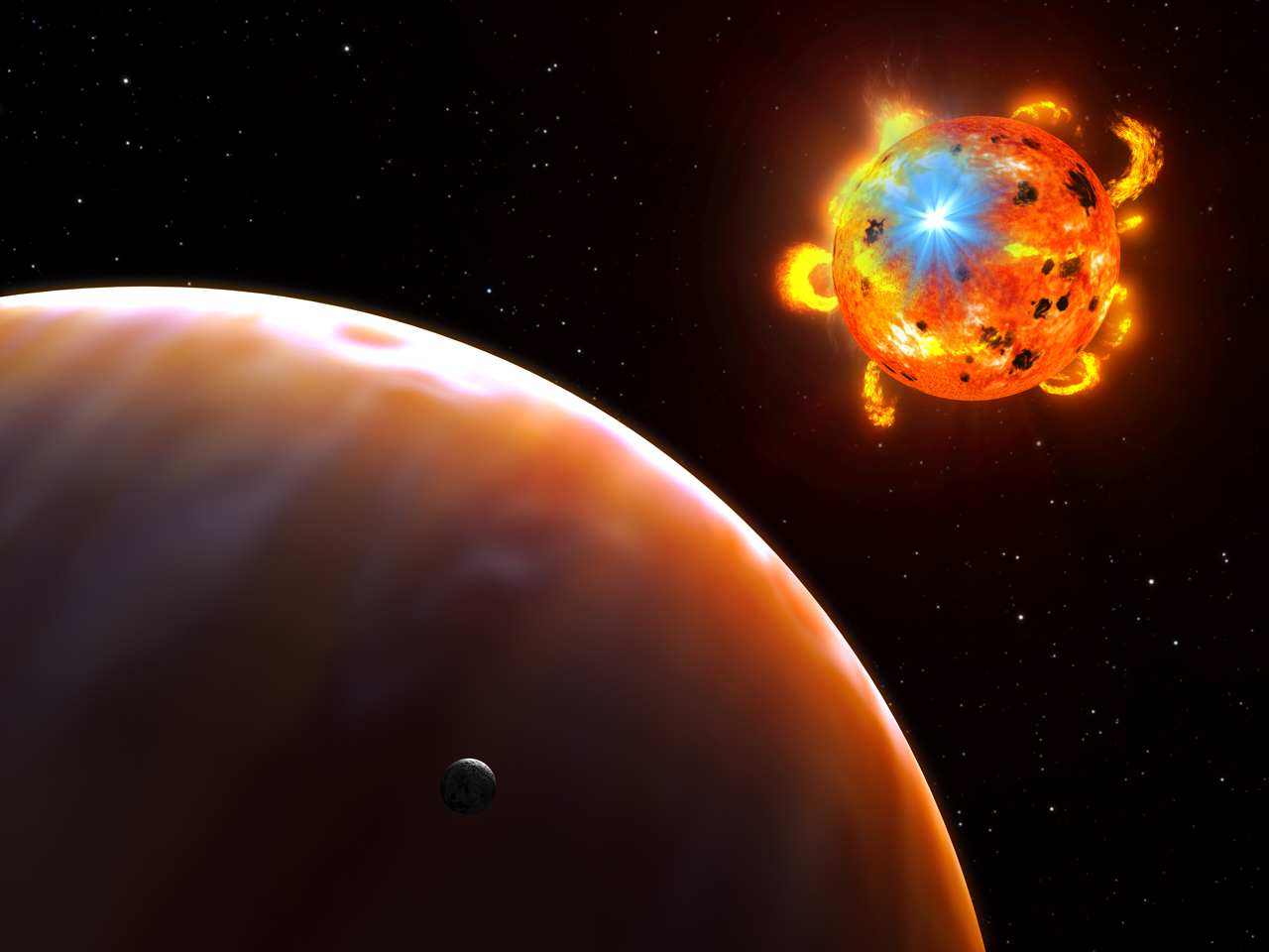 Artwork credit:  NASA  ,  ESA  , and G. Bacon (  STScI  )